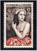 Océanie N° 203  XX  : Jeune Fille De Bora Bora,  Sans Charnière, TB
