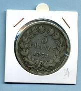 5 Francs 1834/A/ Louis Philippe I Rois Des Français - France