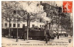 LYON - Boulevard De La Croix-Rousse - Le Chemin De Fer Des Dombes - 1913 - Lyon 4