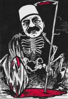 CPM LARDIE JIHEL Tirage Limité Numéroté En 8 Exemplaires Signé Arménie Arménia Génocide Arménien Squelette Talat Pacha - Arménie
