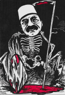 CPM LARDIE JIHEL Tirage Limité Numéroté En 8 Exemplaires Signé Arménie Arménia Génocide Arménien Squelette Talat Pacha - Armenië