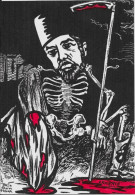 CPM LARDIE JIHEL Tirage Limité Numéroté En 8 Exemplaires Signé Arménie Arménia Génocide Arménien Squelette Halim Pacha - Arménie