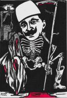 CPM LARDIE JIHEL Tirage Limité Numéroté En 8 Exemplaires Signé Arménie Arménia Génocide Arménien Squelette Enver Pacha - Arménie