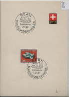 1961 Pro Patria B106/734 FD First Day Ausgabetag Bundesfeiermarke Au PTT Bögli - FDC