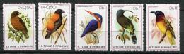 St Thomas Et Prince ** N° 556 à 560 - Oiseaux -