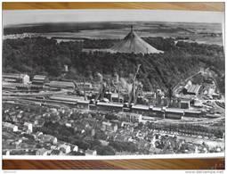 Metallurgie Lorraine à LONGWY   Photographie Aérienne Lapie 82 Grand FORMAT  27  * 45 Cm - Longwy
