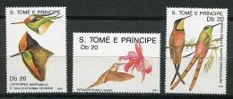 St Thomas Et Prince ** N° 943 à 945 - Oiseaux : Colibris -