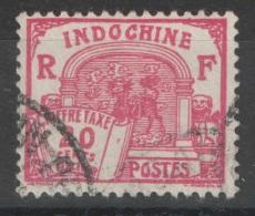 Indochine - YT Taxe 54 Oblitéré - Portomarken
