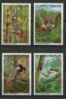 St Thomas Et Prince ** N° 1026 à 1029 - Oiseaux : Le Perroquet Gris -