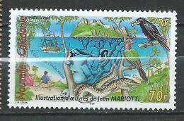 New Caledonia NOUVELLE CALEDONIE 2002 Jean Mariotti.birds.raven.MNH - Nouvelle-Calédonie