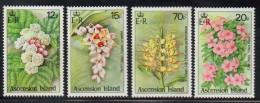 1985 Ascension Flowers  Complete Set Of 4 MNH - Ascension (Ile De L')
