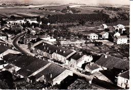 Hatrize  Rue De Verdun  En Avion Au Dessus De...  Cpsm Format 10-15 - Autres Communes