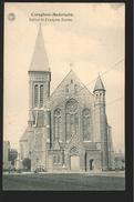 +++ CPA - CUREGHEM - ANDERLECHT - Eglise St François Xavier - Kerk - G.Hermans  // - Anderlecht