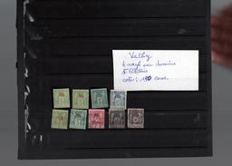 Timbres De VATHY , 4 Timbres Neufs ,5 Timbres  Oblitérés, - Vathy (1893-1914)