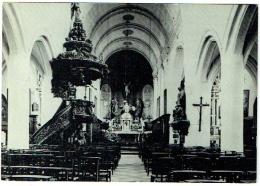 Wezemaal. Sint-Martinuskerk. Binnenzicht. - Rotselaar