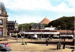 Longwy  Gare Routière  Cpsm Format 10-15 - Longwy