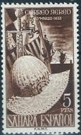 ESPAÑA COLONIAS SAHARA 1952 - Mi:ES-SH 128, Edi:ES-SH 97 ** - Precio Cat. 32 - Sahara Spagnolo