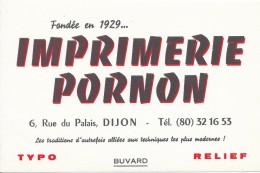 Imprimerie PORNON 6, Rue Du Palais, DIJON - Papeterie