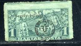 ULTRA RARE 1 KORONA 1920 WAR MAGYAR HUNGARY DOUBLE OVERPRINT OCCUP. ROMANA+SEGELY-BELYEG STAMPS Timbres