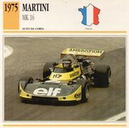 """Auto Da Collezione  """"Martini  1975  MK 16"""" (Francia) - Motori"""