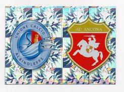 Calciatori 2009/2010 - Figurina Nr. 493/A/B - Albinoleffe - Ancona - Edizione Panini - (FDC1272) - Edizione Italiana