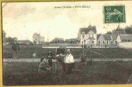 RIVA BELLA - Vue Animée Peu Courante AVENUE CHRISTIAN Enfants Landau - Riva Bella