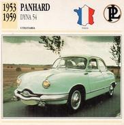 """Auto Da Collezione  """"Panhard  1953  Dyna  54"""" (Francia) - Motori"""