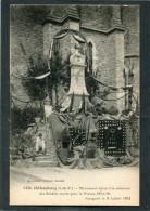 CPA - CHATEAUBOURG - Monument Aux Morts Pour La France 1914-19, Inauguré Le 3 Juillet 1921, Anim - Other Municipalities