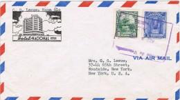 19756. Carta Aerea  CARACAS (Venezuela)  1948. Hotel Nacional - Venezuela