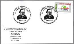 P.EHRLICH - Prime Tratamiento Contra La SIFILIS - SALVARSAN (arsfenamina). C Napoca 2004