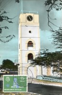 14785, Ned. Antillen Max. 1958, Aruba,  Tower  Willem III, Architecture