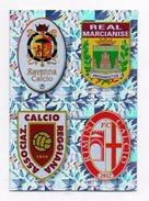 Calciatori 2009/2010 - Figurina Nr. 680/A/B/C/D - Ravenna-Marcianise-Reggiana-Rimini - Edizione Panini - (FDC1274) - Panini