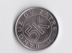 5 MAKUTA - 1977 -   Rare - Zaïre (1971-97)