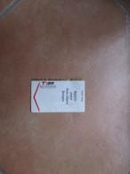 Biglietto ORARIO Area Urbana BOLOGNA T Per  Pubblicità Verso - Bus