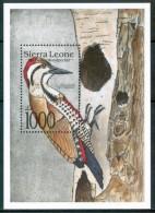 1992 Sierra Leone  Uccelli Birds Oiseaux Block MNH** Sie30 - Sierra Leone (1961-...)
