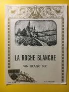 2206 - La Roche Blanche Vin Blanc Sec - Bordeaux