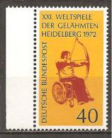 BRD 1972 // Michel 733 ** (M)