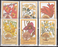 Zimbabwe 1996, Postfris MNH, Flowers - Zimbabwe (1980-...)