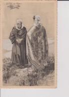 C P A HOMUALK TYPES DE COSTUMES DE FRANCE BRETAGNE ST POL DE LEON  SÉRIE 1 1933 N°9 - Homualk