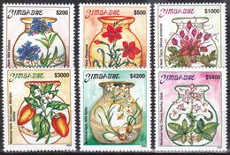 Zimbabwe 2003, Postfris MNH, Plants, Flowers - Zimbabwe (1980-...)