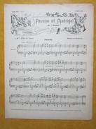 Partition PIANO SOLEIL - PAVANE Et MADRIGAL, E.PALADILHE - ROSATI, J.L.LEYBACH - N°10  1899 - Noten & Partituren