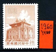 CINA - Year 1960 - Nuovo -news- MNH** - Nuovi
