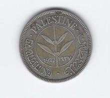 Palestina 50 Mils  1927--BB - Monete