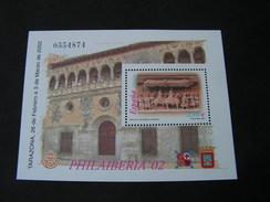 Spanien Tarzona  Block 2002   Block 105   Postpreis € 2,10 - 1931-Heute: 2. Rep. - ... Juan Carlos I