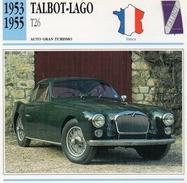 """Auto Da Collezione  """"Talbot-Lago  1953  T26"""" (Francia) - Motori"""