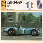 """Auto Da Collezione  """"Talbot-Lago  1948  T26C"""" (Francia) - Motori"""