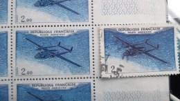 """VARIÉTÉ Y&T Poste Aérienne 38 - """"Nordatlas"""" Unicolore"""