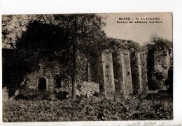 33 - BLAYE . LA CITADELLE . RUINES DU CHÂTEAU CARIBERT - Réf. N°17587 - - Blaye