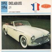 """Auto Da Collezione  """"Delahaye  1951  235"""" (Francia) - Motori"""