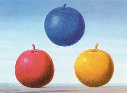 Pk - Cp - Ak - Magritte - Les Jeunes Amours - Eerste Liefde - Peintures & Tableaux
